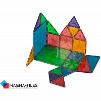 Magna-Tiles® Clear Colors 32 Piece Set