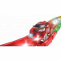 LED Twister Tracks Racer - Red