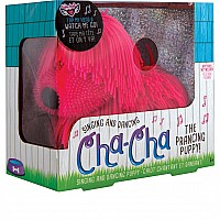 Cha-Cha The Prancing Puppy - Pink