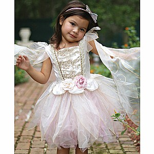 Great Pretenders Golden Rose Fairy Dress Size 5-6