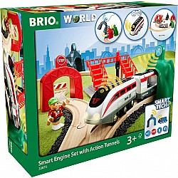 BRIO® SmartTech™ Smart Engine Set with Action Tunnels