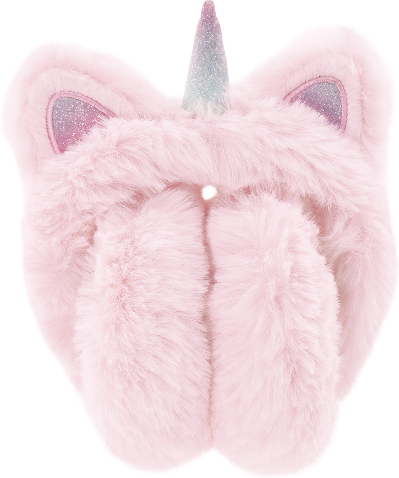 Ear Muffs - Light Pink Unicorn