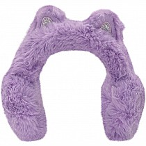 Ear Muffs - Purple Furry Cat