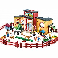 Playmobil Tiny Paws Pet Hotel
