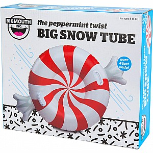 The Big Peppermint Twist Snow Tube