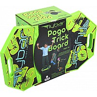 Pogo Trick Board - Green Mean