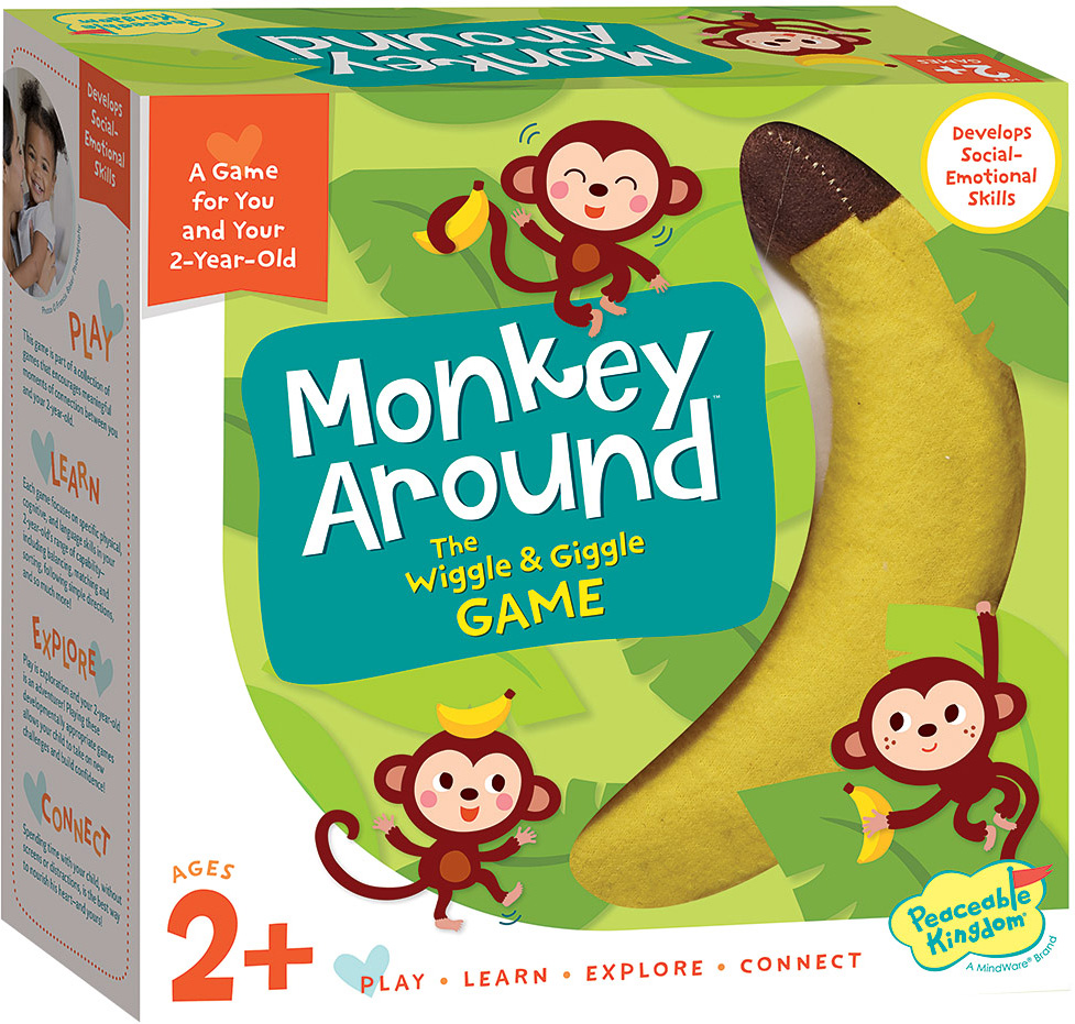 MONKEY AROUND GAME Toy Review,FUNNY INDOOR FAMILY FUN GAME ...