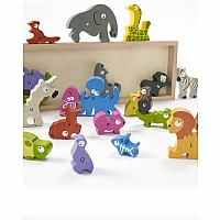 Animal Parade A to Z Puzzle & Playset