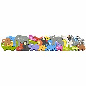 Jumbo Animal Parade A to Z Alphabet & Animal Puzzle