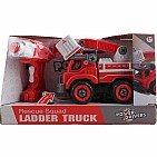 Power Driver Rescue Squad Ladder Truck
