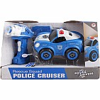Power Driver Rescue Squad Police Cruiser