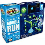 Light & Sound Space Marble Run - 60 piece