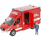 Bruder MB Sprinter Fire Department Paramedic with Driver and Accessories
