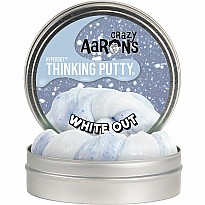 Crazy Aaron's Hyperdot Thinking Putty White Out