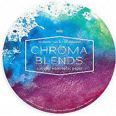 Chroma Blends Circular Watercolor Paper Pad