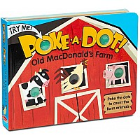 Melissa & Doug Poke-a-Dot! Book - Old MacDonald's Farm