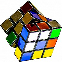 Rubik's Cube Metallic 40th Anniversary Edition