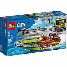 LEGO CITY - Race Boat Transporter
