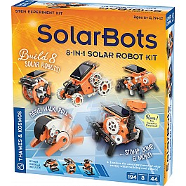 SolarBots: 8-in-1 Solar Robot Kit