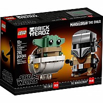 LEGO Star Wars BRICK HEADS - The Mandalorian & the Child