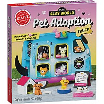 Klutz Mini Clay World Pet Adoption Truck