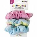 Scrunchies - Fleece Tie Dye Scrunchie Set