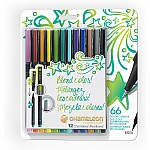 Chameleon Fineliners 12 Pack - Bright Colors.