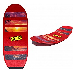 Freestyle Spooner Board - Red