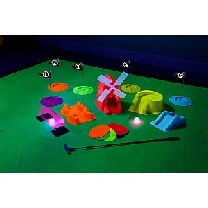 4FUN Deluxe Cosmic Glow Mini Golf