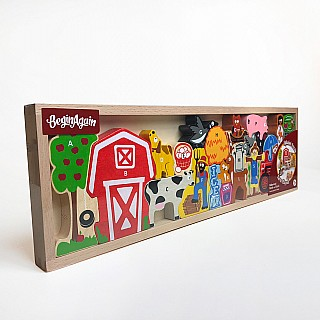 Farm A to Z Puzzle & Playset