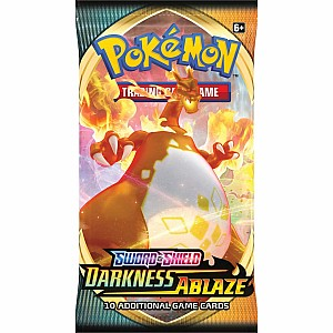 Pokemon Trading Card Game - Sword & Shield Darkness Ablaze Booster Pack