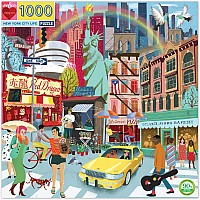 1000 pc New York City Life Puzzle