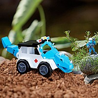 Dino Construction Company® Rescue Crew - Turbo the Triceratops Police SUV