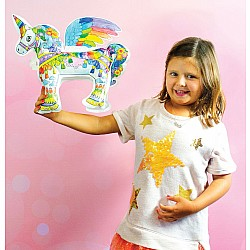 OOLY 3D Colorables DIY Magical Unicorn