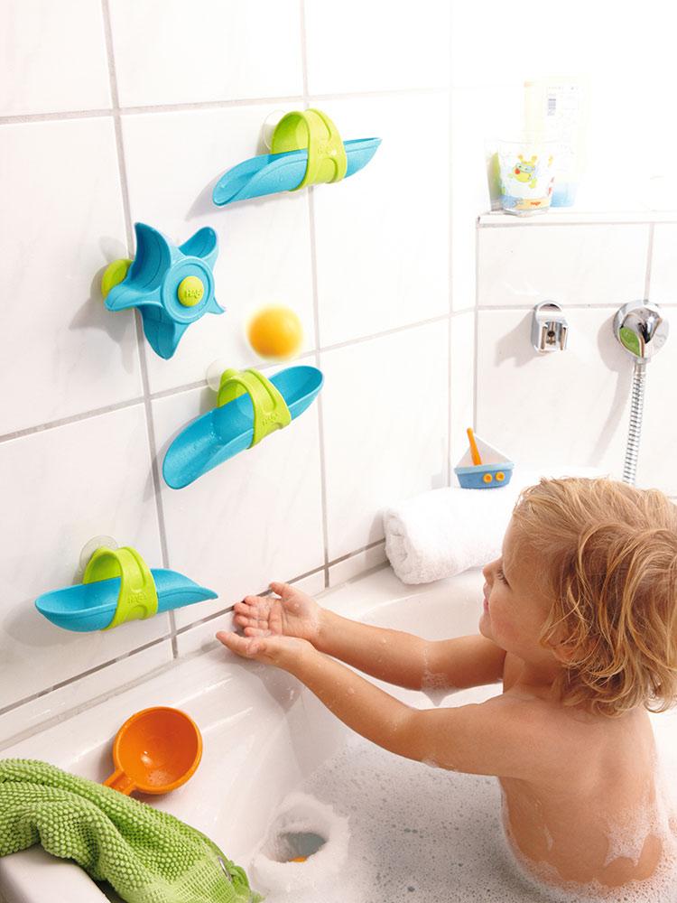Bathtub Ball Track Set - Snickelfritz Toys