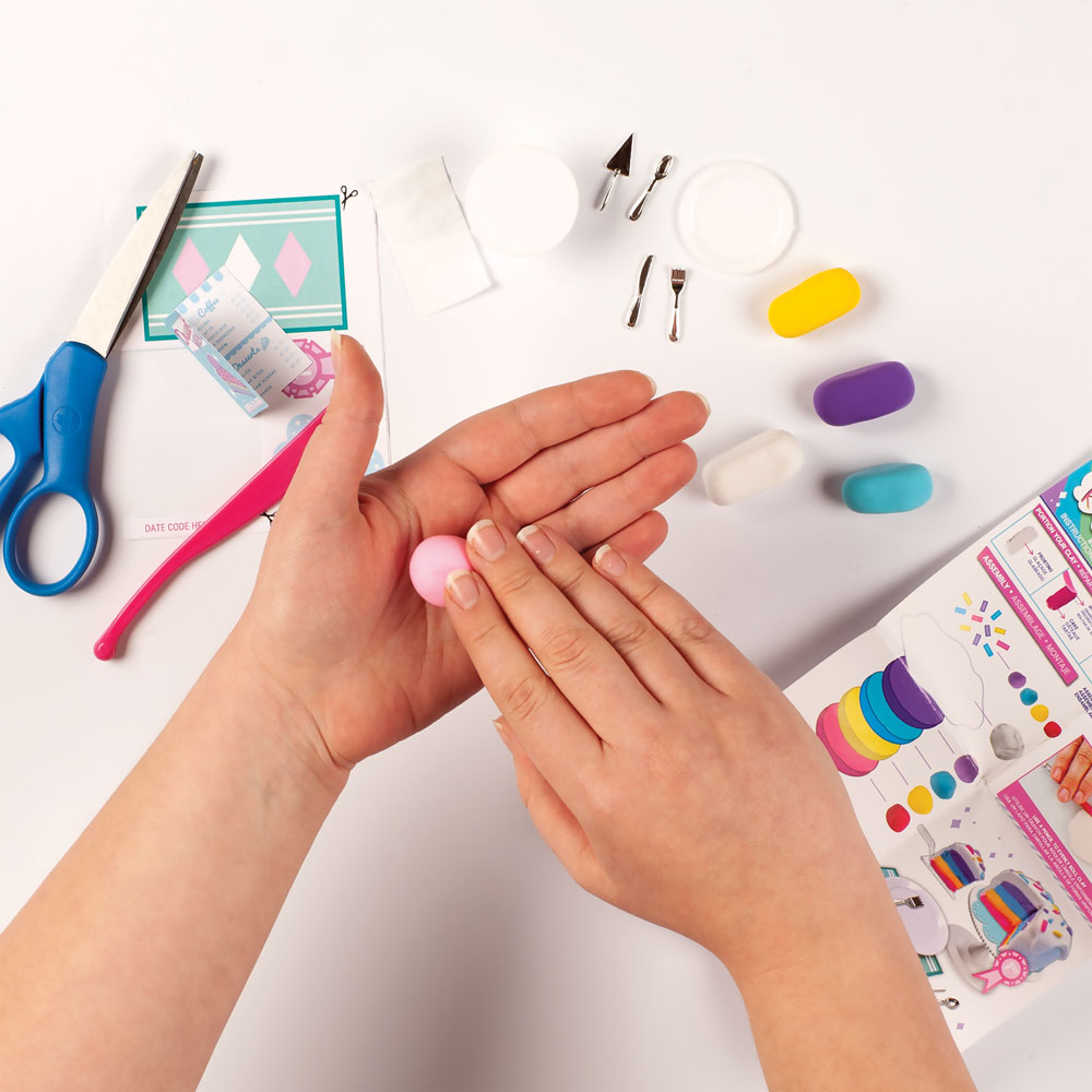 Fashion Angels 100 Extra Small Mini Clay Kit Rainbow Cake Imagine That Toys