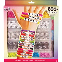 Fashion Angels Tell Your Story Alphabet Bead Case - Large