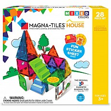 Magna-Tiles® House 28 Piece Set