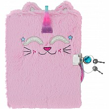 Caticorn Plush Journal