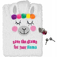 Llama Plush Journal