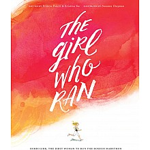 The Girl Who Ran Hardcover Book