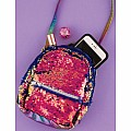 Magic Sequin Micro Mini Backpack/X-Body
