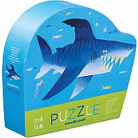 Mini Puzzle 12pc - Shark City