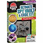Klutz Maker Lab - Ultimate Spy Vault & Code Kit