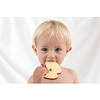 Pepita the Apple Rubber Teether