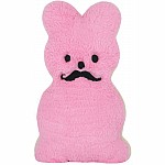 Bunny Cookie Furry Pillow - Pink
