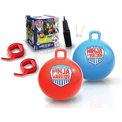 American Ninja Warrior Bounce Ball Race Set