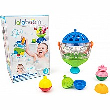 Lalaboom - 3 in 1 Splash Ball - 12 pc Bath Set