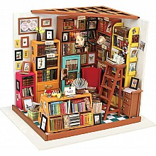 DIY Miniature House: Sam's Study