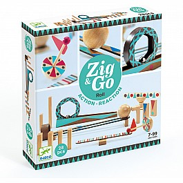 Zig & Go - 28 pcs Marble Run